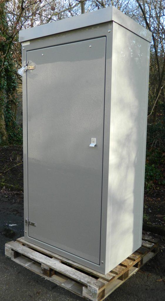 Single door GRP enclosure