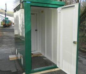Double Entry GRP enclosure