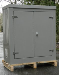 CR9 double door GRP cabinet