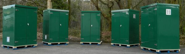 GRP cabinets